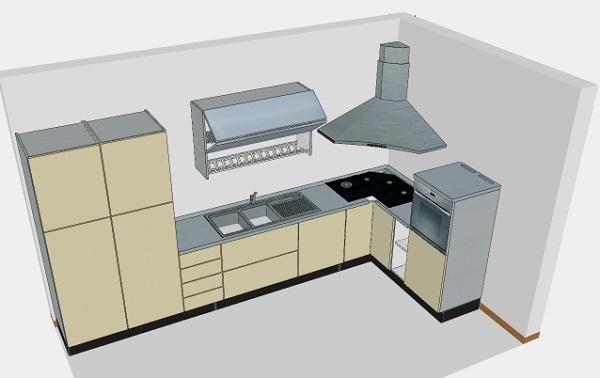 Cucine ad angolo soluzioni for Cucine pertinger
