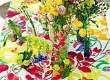 tavola colorata tovaglia marimekko