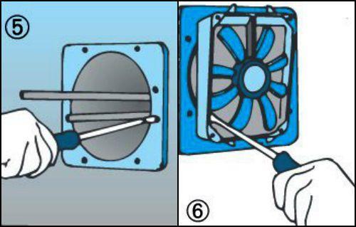Installare una ventola di aerazione - Areatore per finestra ...
