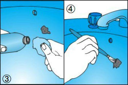 Come Si Ripara Un Lavandino In Ceramica.Riparare Sanitari Scheggiati