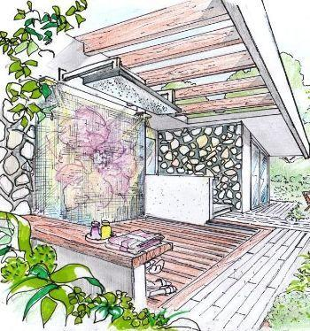 Garden shower - Homexyou.com