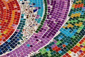 Decorazione mosaico