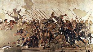 Mosaico Battaglia di Isso