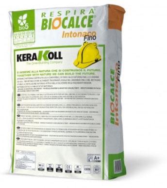 Biocalce intonaco fino Kerakoll