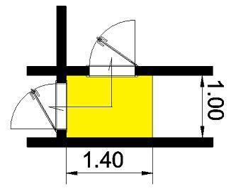 Misure e ingombro porte interne - Misure e ingombro porte interne