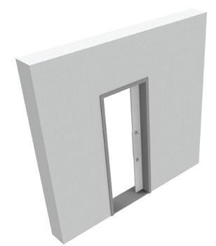 Misure e ingombro porte interne - Porta scorrevole misure ...