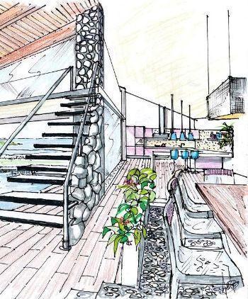 Il giornale tutta edilizia progettazione il mare in casa for Design della casa a 3 piani