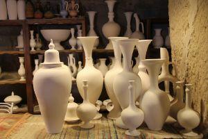 Ceramiche grezze per decorazione craquele