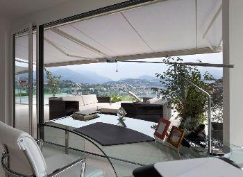 tenda da esterno per rendere fresca la casa