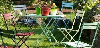 Foldy di Unopiù outdoor in verde