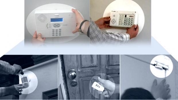 Kit di allarme antifurto senza fili per la casa - Allarme casa fai da te ...