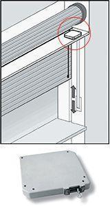 Kit di allarme antifurto senza fili per la casa: sensore per tapparelle
