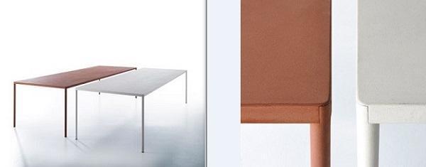 Ecocemento: MDF Italia, tavolo Robin