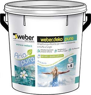 weber.deko pure da 5 litri