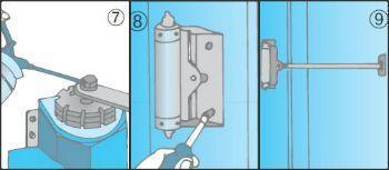 Montare un chiudiporta - Come regolare un chiudiporta ...
