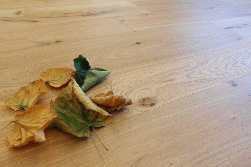 Pavimento in legno rovere naturale