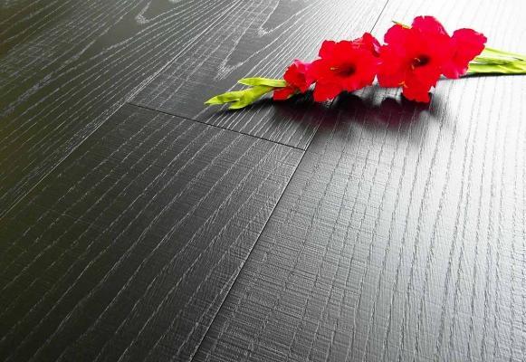 Parquet rovere Maxiplancia Nero Carbon Armony Floor
