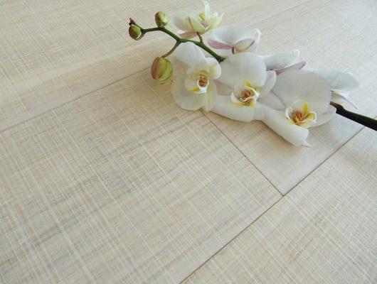 Armony floor parquet bamboo strand woven sbiancato neve taglio sega