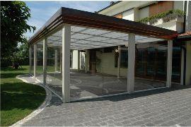 Coperture terrazze in vetro