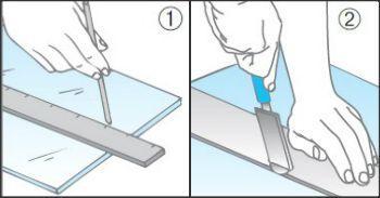 Tagliare e forare il vetro - Tagliare vetro finestra ...