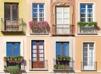 Balconi allineati