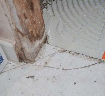 I danni al controtelaio causati dall'umidità persistente