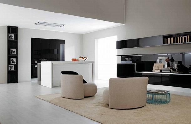 Cucine moderne a scomparsa - Cucine con tavolo a scomparsa ...