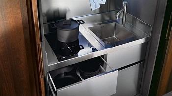 Cucine moderne a scomparsa