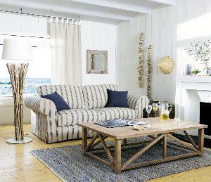 righe effetto nautico divano letto