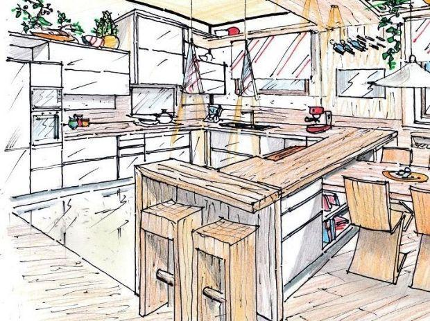 Legno in cucina - Cucine a ferro di cavallo ...
