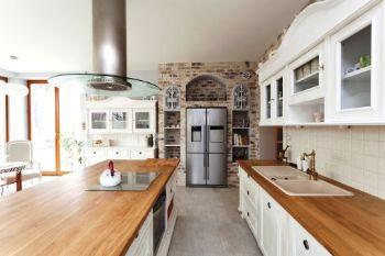 Legno in cucina