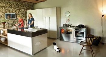 Cucina a legna: J.Corradi, Neos