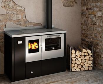Cucina a legna - Stufa a legna economica usata ...