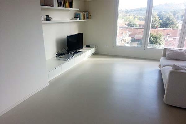 Micro cemento rivestimenti per pavimenti in resina - Resina bagno prezzo ...