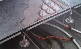 sistema di collettori sistema radiante ( di Eurotherm)