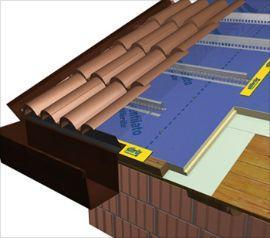 microventilazione del tetto di Stiferite