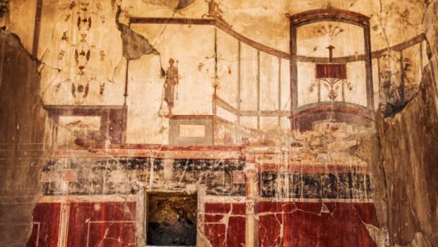 Decorazioni Parietali In Stile Pompeiano