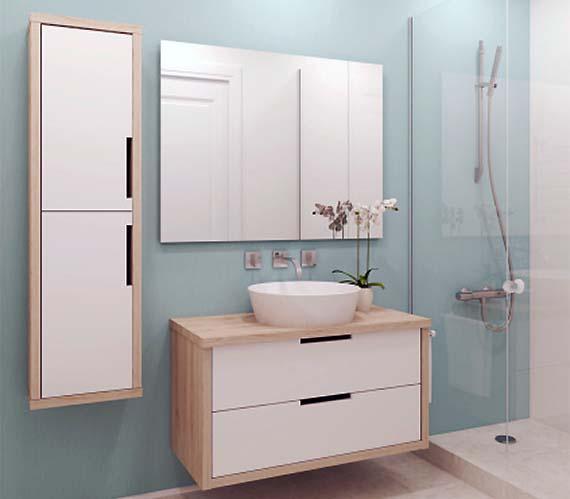 Ristrutturare bagno piccolo moderno - Rifare bagno costo ...