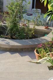 Terrazzamenti in giardino