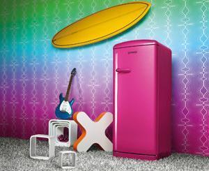 frigorifero colorato Gorenje