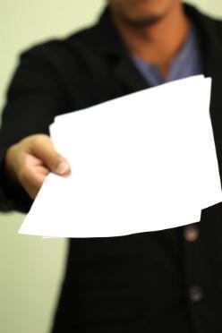 Consegna documenti condominiale