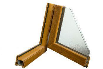 serramento con doppio vetro