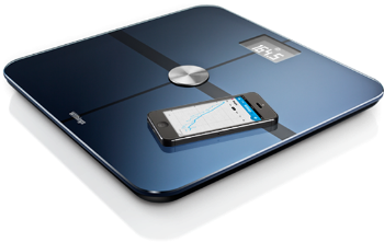 bilancia pesapersone smart Body Analizer di Withings