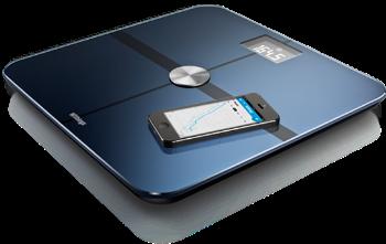 bilancia pesapersone smart Body Analizer di Withings