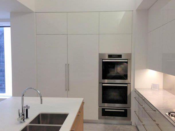 cucina Aran in appartamento New York
