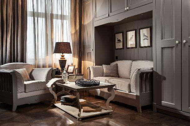 soggiorno appartamento con mobili Minacciolo