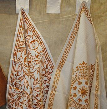 Alcuni esempi di disegni tradizionali delle tele romagnole.