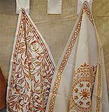 Qualche esempio dei disegni tradizionali sulle tele di Romagna.