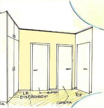 Parete In Cartongesso Con Porta Scorrevole Esterna: Porte scorrevoli a ...