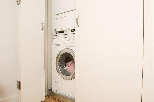 lavatrice nell'armadio